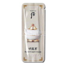 [mini]The History of Whoo Secret Court Cream (Myeong ui hyang) 1ml*10ea, THE HISTORY OF WHOO